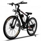 AMDirect Bicicleta de Montaña Eléctrica de 26 Pulgadas E-Bike 250W