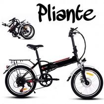 Befied Bicicleta Eléctrica de Montaña Bicicleta Plegable
