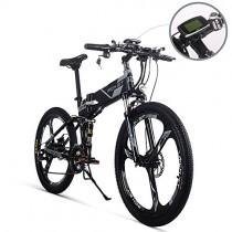 Bicicleta de montaña plegable eléctrica