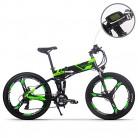 Bicicleta de montaña plegable y eléctrica para hombre MTB RT860