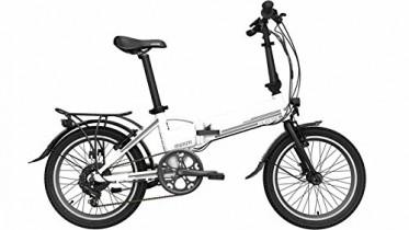 Bicicleta eléctrica plegable Legend Monza 8,8Ah (blanco)