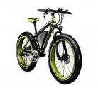 Bicicletas eléctricas para hombre Cruiser verde