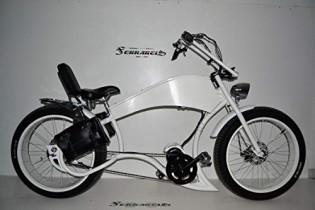 Cicli Ferrareis Bici Fat Bike Chopper Harley Davidson Replica EBIKE BAFANG