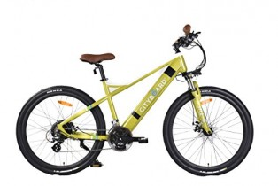 Cityboard E- Tui Bicicleta Eléctrica, Unisex Adulto, Negro/Azul