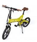 Cityboard Montaña Plegable E-Cies Bicicleta Eléctrica, Unisex Adulto