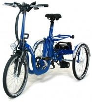Di Blasi R-34 triciclo eléctrico plegable (azul)