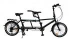 ECOSMO 50,8 cm nueva ciudad bicicleta plegable Tandem