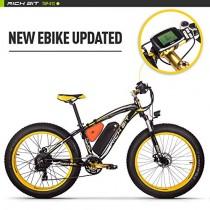 Eléctricas Bicicletas TP022 1000W Motor 48V 17Ah Batería de Litio-ion