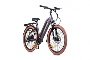 ELECTRI Bicicleta eléctrica Anima autonomía de 60 km, Velocidad 25 km/h, Cambio Shimano 8 V