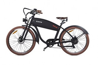 Electri bicicleta eléctrica Bold Color Negro