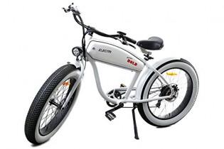 Electri bicicleta eléctrica EXTRA Bold Color Blanco