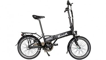 enik E-Bike bicicleta plegable para Snap-in 20, 20 pulgadas