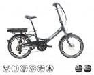 F.lli Schiano E- Star Bicicleta eléctrica, Adultos Unisex, Antracita, 20″