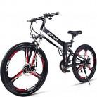 GTYW 26 Pulgadas Bicicleta Plegable Eléctric