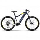 Haibike Sduro hardseven 7.0 E-Bike 500 WH S de Mountain Bike Azul/Citron/Plata Mate