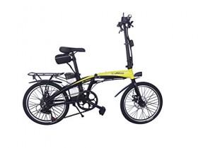 HE-Bikes Helliot Bicicleta de Paseo eléctrica, Unisex Adulto, Blanco, M