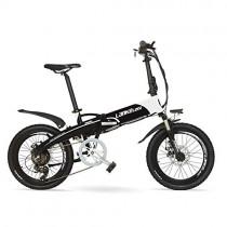 LANG TU 20» Pedal Assist Bicicleta Eléctrica Plegable
