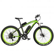 XF4000 26 pulgadas bicicleta de montaña eléctrica negro verde