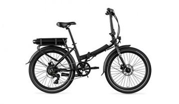 Legend eBikes Siena Smart Bicicleta eléctrica Plegable, Negro Onyx, Batería 36V 14Ah (504Wh)
