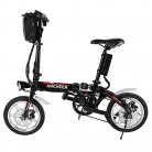 Lonlier Mini Bicicleta Eléctrica Plegable de Montaña
