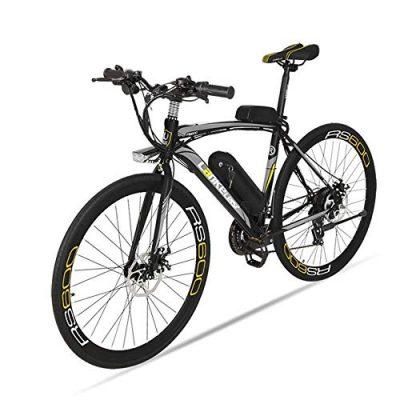 MERRYHE Bicicleta eléctrica para Adultos Bicicleta eléctrica de Carretera