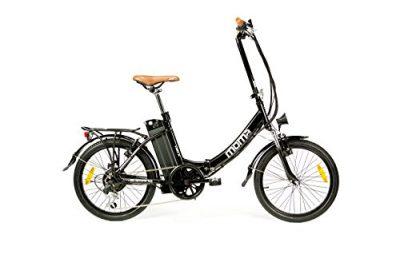 Moma Bikes – Bicicleta Eléctrica Plegable SHIMANO