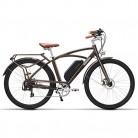 MSEBIKE Comet 700C Bicicleta Eléctrica 48V 13Ah 400W con bateria de repuesto