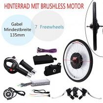OUKANING – Kit de conversión de Motor eléctrico para Bicicleta de 48 V