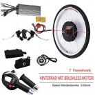 OUKANING – Kit de conversión de Motor eléctrico para Bicicleta de 48 V, 1000 W, 28 Pulgadas