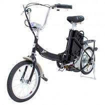 Riscko Bicicleta Eléctrica Plegable 250W negro