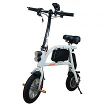 SABWAY® Bicicleta Eléctrica Plegable 400W Scooter Mini E-Bike