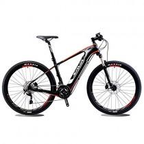 SAVADECK Knight9.0 Bicicleta de Carbono e-Bici eléctrica Bicicleta de montaña