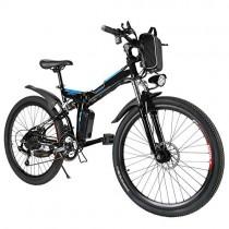 Speedrid Bicicleta eléctrica ebike electrica 26/20 Ebike ebike montaña para Bicicleta doble suspensión