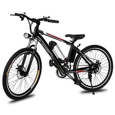 Teamyy Bicicleta de Montaña Eléctrica Rueda de 26 pulgadas 250W