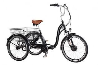 Triciclo Eléctrico Ebici Tryme2 24″x3 Motor 250W36V11AH 7V