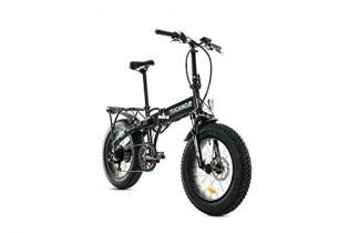 Tucano Bikes Monster HB Bicicleta Eléctrica Plegable, Gris