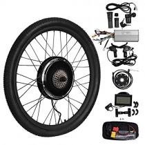 Vogvigo 26″ 48V 1500W Rueda trasera Hub Motocicleta Bicicleta electrica