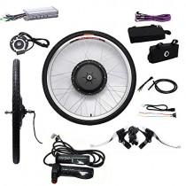 YiWon Kit de conversión de Bicicleta eléctrica de 26 Pulgadas